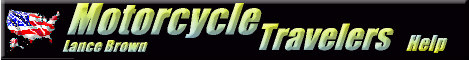 Motorcycle Travelers Help! Bikers  Helping Bikers!